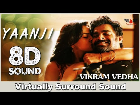 Yaanji | 8D Audio Song | Vikram Vedha | Tamil 8D Songs