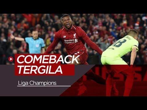 Selain Liverpool Vs Barcelona, Inilah 5 Comeback Terbaik di Liga Champions