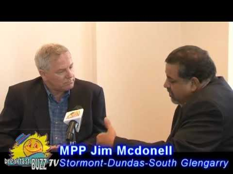 Breakfast BUZZ With PC MPP Jim Mcdonell Of From Stormont-Dundas-South Glengarry.