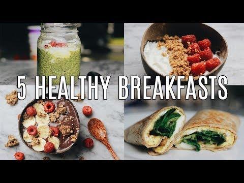 5 Quick, Healthy Breakfast Ideas for Work & School