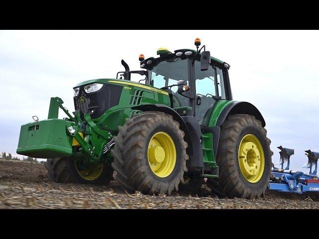 John Deere - Tractor 6M - 6195M - Cultivable