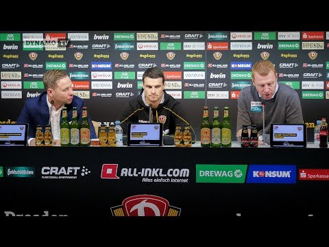 17. Spieltag | SCP - SGD | Pressekonferenz vor dem Spiel