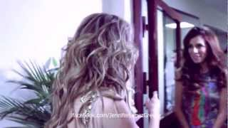 Jennifer Lopez & Anna Sedokova in Russia 11/11/12