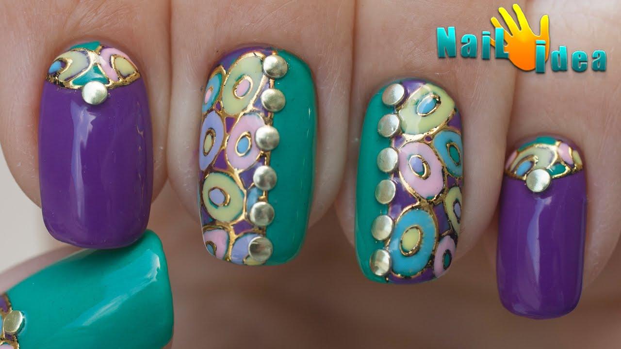 пошагово дизайн ногтей фото пошагово