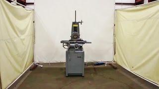 """HARIG 6"""" x 12"""" Manual Surface Grinder Model Super 612"""