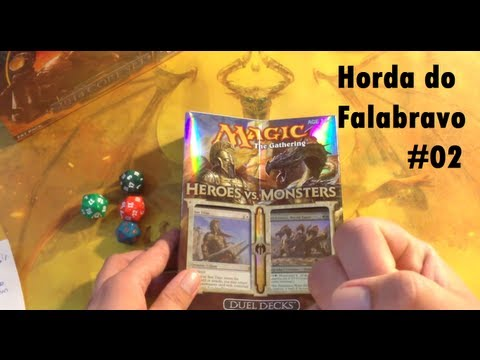 Unboxing: Heroes Vs. Monsters | Horda Do Falabravo 02