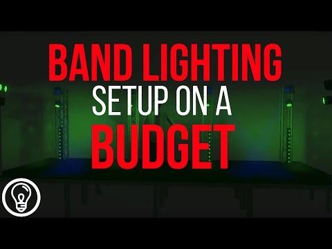 Band Lighting Setup on a Budget - 2