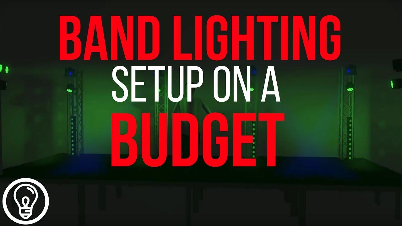Band Lighting Setup On A Mid Size Budget 2