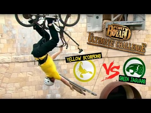 Yellow Scorpions Vs Green Jaguars  Fort Boyard: Ultimate Challenge  ZeeKay
