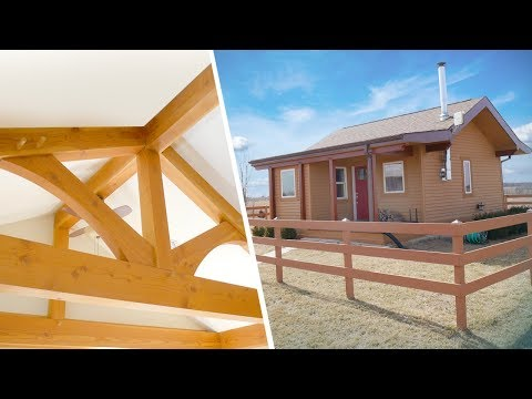 Off-Grid, Timber-Framed Tiny House with Japanese Inspiration | Full Tour