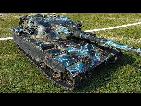 NEW TERMINATOR - T95/FV4201 Chieftain - World of Tanks Gameplay thumbnail