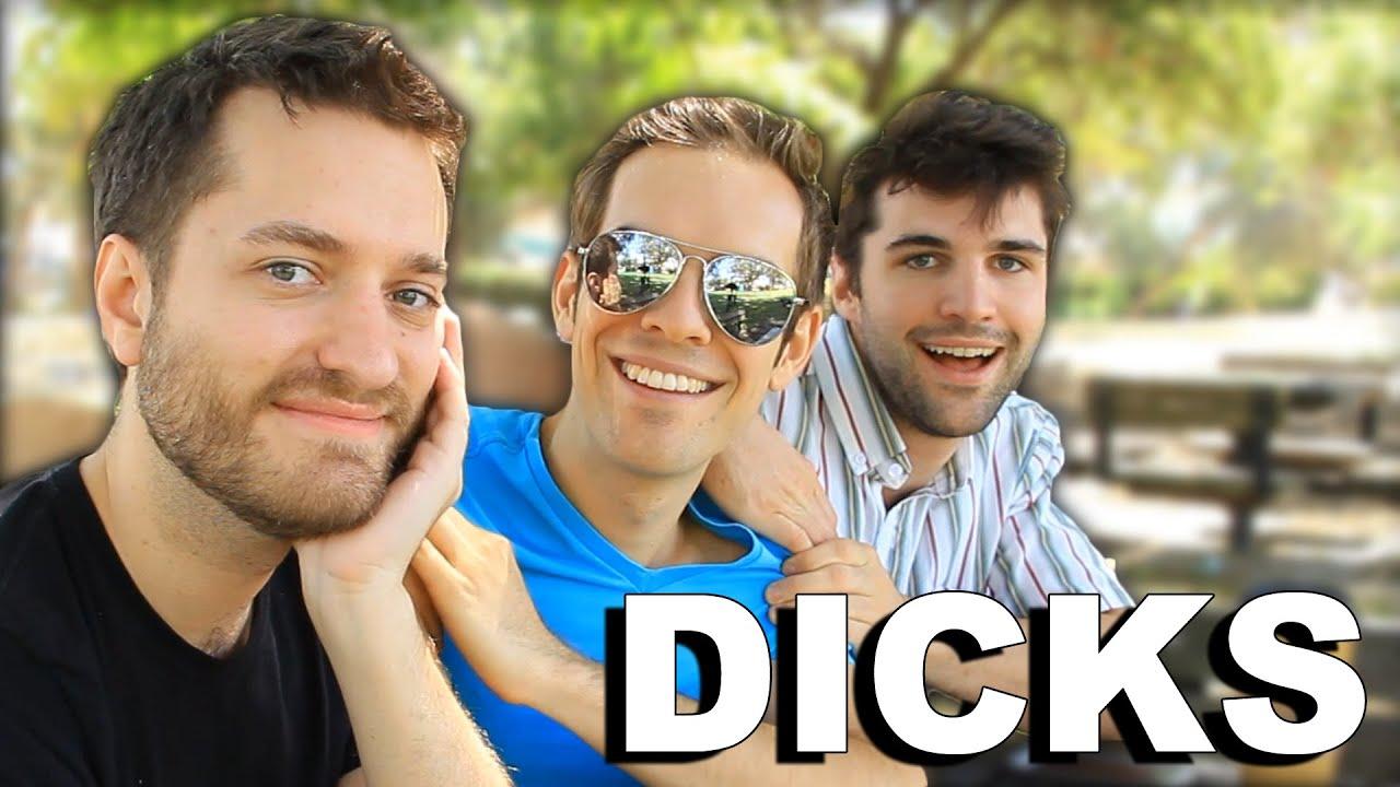 Three Dicks On A Bench