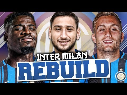 REBUILDING INTER MILAN!!! FIFA 18 Career Mode
