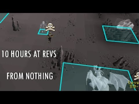 10 HOURS at REVENANTS from NOTHING! [1] - OSRS