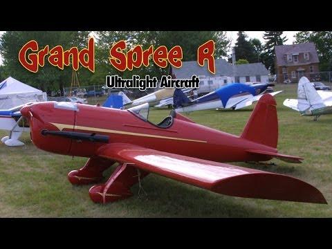 Grand Spree R an all metal low wing ultralight aircraft.