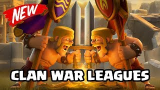 UPDATE NEWS: Clan War Leagues Confirmed! | Clash of Clans 6th Anniversary Update CoC
