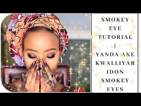 Download Yanda ake kwalliyar ido da bakin eyeshadow | Smokey eye tutorial