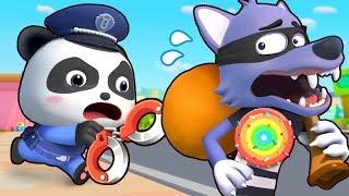 Bayi Panda Bercita-cita Menjadi Polisi Yang Profesional | Lagu Anak-anak | BabyBus Bahasa Indonesia