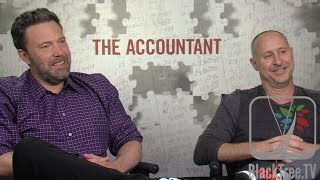 Ben Affleck And Gavin O'Connor Talks About New Movie THE ACCOUNTANT