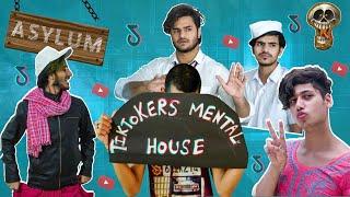 Tiktokers Mental House | YouTube vs Tiktok | The Mad Skulls | TMS