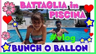 Baixar GAVETTONI IN PISCINA con BUNCH o BALLON! review+VLOG by Lara e Babou e FAMILY