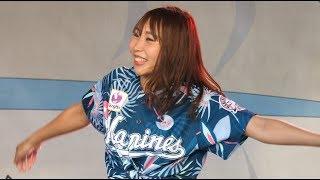 この曲、ダンス最高!「DA PUMP - U.S.A.(原曲 Joe Yellow - USA)」ZOZO Marine Stadium cute cheerleaders M☆Splash!!
