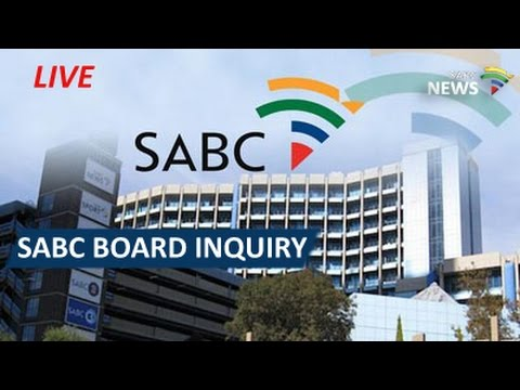 SABC Board Inquiry deliberates working document, 20 January 2017 pt2
