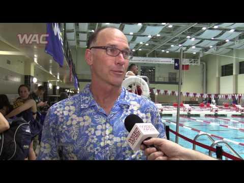 2017 WAC Swimming and Diving Championships Recap