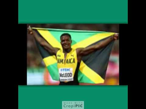 Omar Macleod wins Gold for Jamaica 2017 London Championships.