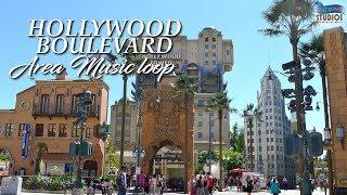Hollywood Boulevard - Area Music Loop [HQ] - Disneyland® Paris