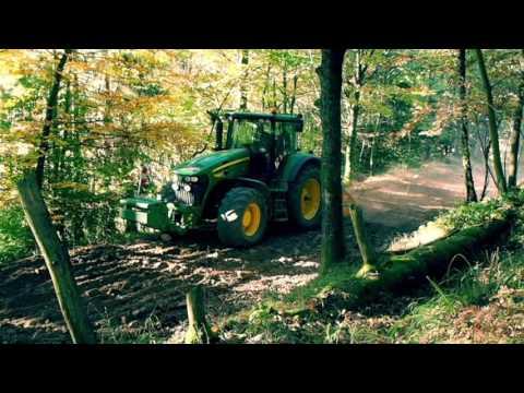 Réfection d'un chemin forestier à Freland