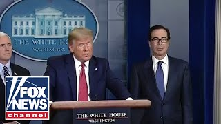Download Mnuchin joins Trump, Coronavirus Task Force in briefing Mp3 and Videos