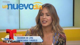 Después de Marc Anthony, ¡Shannon de Lima se confiesa! | Un Nuevo Día | Telemundo