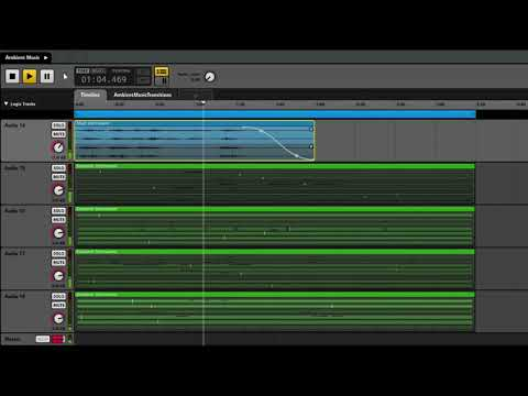 SRAMG (Semi-Random Ambient Music Generator)