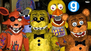 WITHERED ANIMATRONICS PILL PACK REDUX BY LPGAnimations83 Five Nights at Freddy's Garry's Mod Sandbox