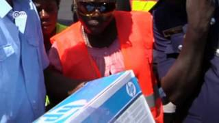 Ghana: Smuggling hub for drugs, computers and weapons | Global 3000