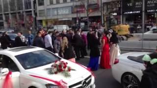 Турецкая свадьба на Кюрфюрстендам в Берлине