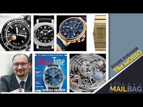 Mailbag! Blancpain vs Panerai Dive Watches; Collecting Watches- No Regrets; Daring to Hublot
