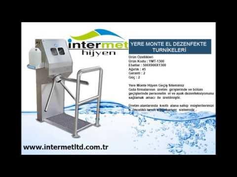 ENDUSTRYEL HIJYEN EKIPMANLARI / Www.intermethygiene.com / Www.intermetltd.com.tr/