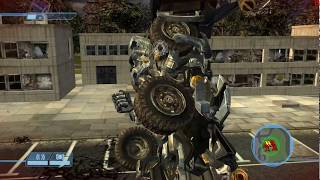 Transformers İronhide Waits For Barricade Come To His Death - Transformers The Game - MXSRT