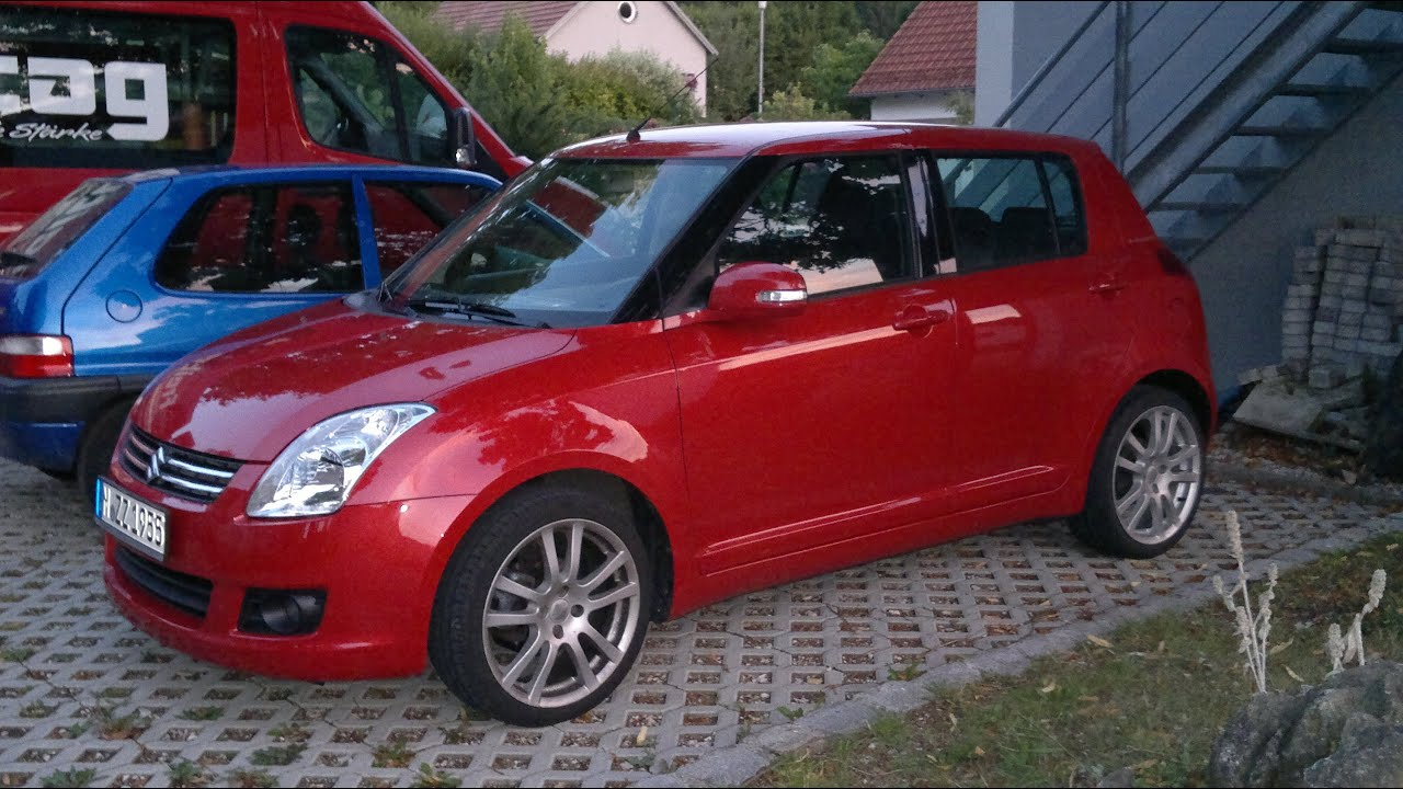 Suzuki Swift 1.3L 68kW/92PS || 0-100 km/h in 13.2 sek. - YouTube