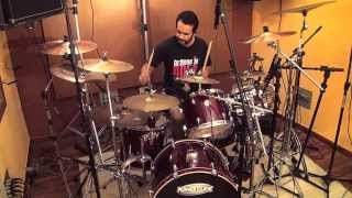 Shaman - Here I Am - Metal Drum Cover - Thiago Drum