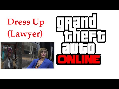 GTA Online - Dress Up (Lawyer)