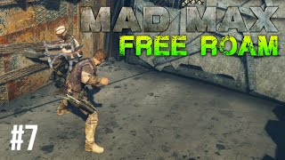 Mad Max Free Roam Gameplay #7 - Camp Death (Mad Max Single Player Free Roam)
