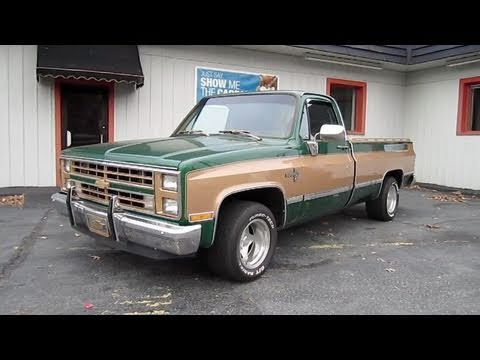 1987 Chevrolet Silverado Start Up, Exhaust, In Depth Tour, And Test Drive