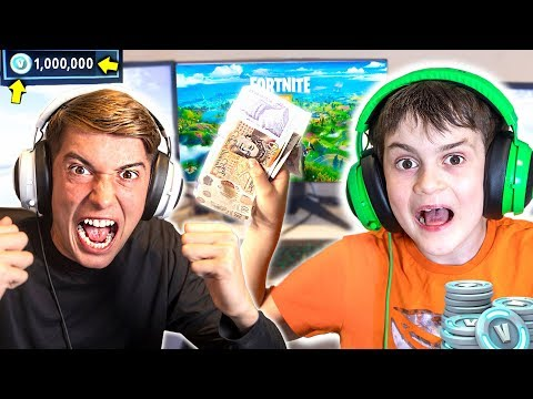 My Little Bro Spent £1000 On MY Credit Card In Fortnite Item Shop!