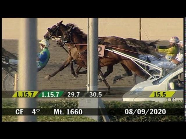 2020 09 08 | Corsa 4 | Metri 1660 | Premio Rimini