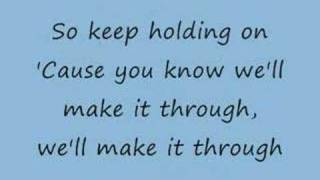 Keep Holding On - Avril Lavigne (lyrics) thumbnail