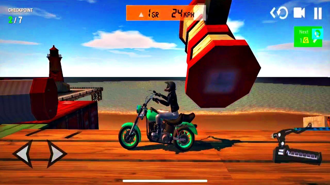 Ultimate Motorcycle Simulator - Driving Simulators Ramp Stunts | Android ios Gameplay