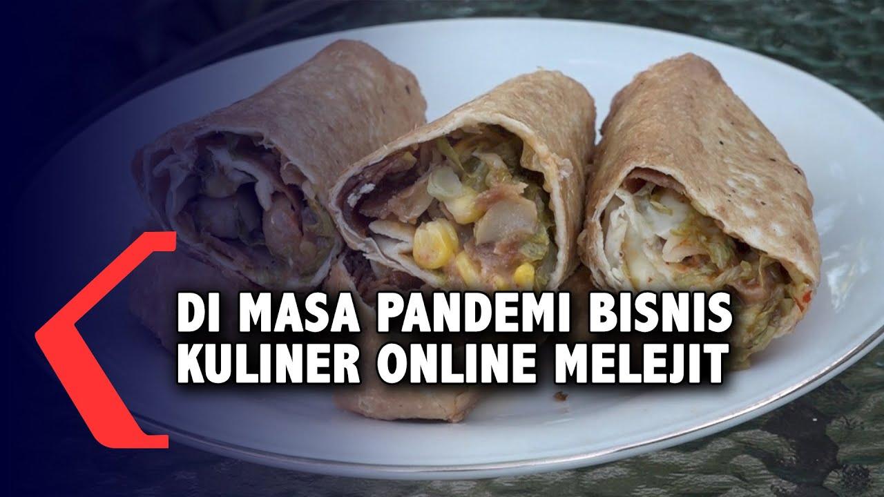 Bisnis Kuliner Online Melejit di Saat Pandemi - YouTube